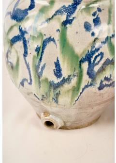 Japanese Shigaraki Water Storage Jar Meiji period - 1892461