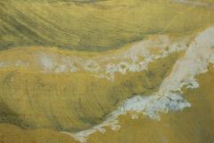 Japanese Six Panel Screen Craggy Coastal Landscape - 735155