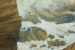 Japanese Six Panel Screen Craggy Coastal Landscape - 735160