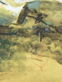Japanese Six Panel Screen Craggy Coastal Landscape - 735161