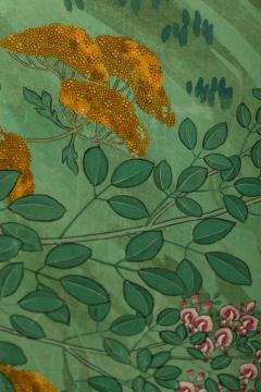 Japanese Six Panel Screen Pheasants In an Autumn Landscape - 1771255