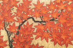 Japanese Six Panel Screen Pheasants In an Autumn Landscape - 1771287
