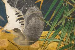 Japanese Six Panel Screen Tropical Garden - 1320005