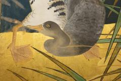 Japanese Six Panel Screen Tropical Garden - 1320010