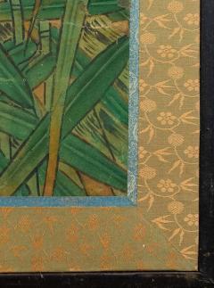 Japanese Six Panel Screen Tropical Garden - 1320016