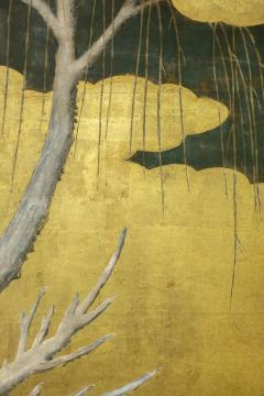 Japanese Six Panel Screen Winter Into Spring - 1320061