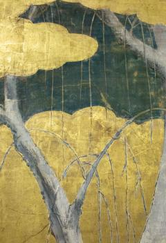 Japanese Six Panel Screen Winter Into Spring - 1320064