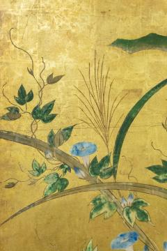 Japanese Six Panel Screen Winter Into Spring - 1320066