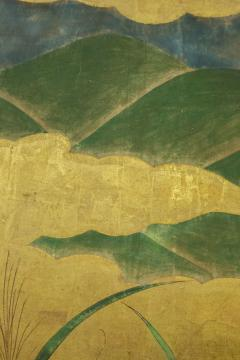 Japanese Six Panel Screen Winter Into Spring - 1320070