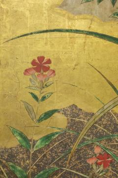 Japanese Six Panel Screen Winter Into Spring - 1320079