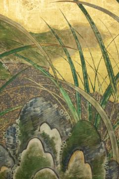 Japanese Six Panel Screen Winter Into Spring - 1320080