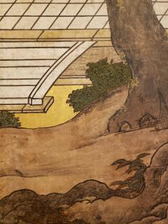 Japanese Six Panel Screen Women of the Court in the Garden - 1571855