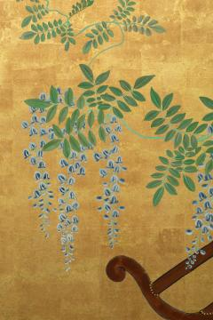 Japanese Six Panel Screens Pair of Festival Carts - 1368644