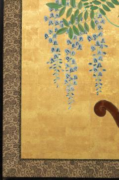 Japanese Six Panel Screens Pair of Festival Carts - 1368646