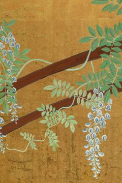 Japanese Six Panel Screens Pair of Festival Carts - 1368647