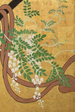Japanese Six Panel Screens Pair of Festival Carts - 1368658