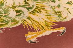 Japanese Two Panel Screen Falcons in Flight - 1950340