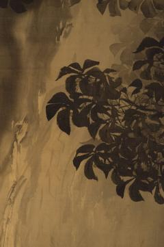 Japanese Two Panel Screen Gibbon in the Wild - 1499812