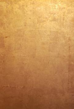 Japanese Two Panel Screen Gold Leaf on Paper - 1571838