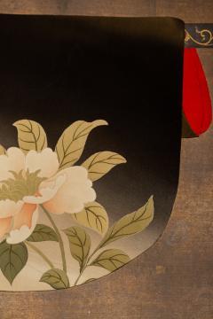 Japanese Two Panel Screen Kimono on Rack - 1939403