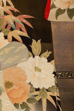 Japanese Two Panel Screen Kimono on Rack - 1939406