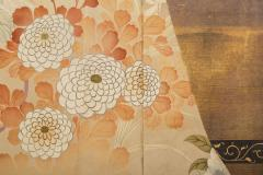 Japanese Two Panel Screen Kimono on Rack - 1939447