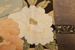 Japanese Two Panel Screen Kimono on Rack - 1939449