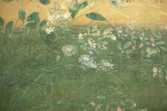 Japanese Two Panel Screen Plains of Musashino with Full Moon Rising - 1491637