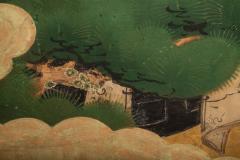 Japanese Two Panel Screen Shoguns Journey to Edo - 756989