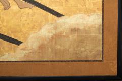 Japanese Two Panel Screen Shoguns Journey to Edo - 756991