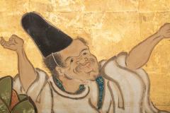 Japanese Two Panel Screen Shoguns Journey to Edo - 756993