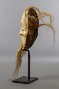 Japanese Wood Noh Mask of Jo - 1564241
