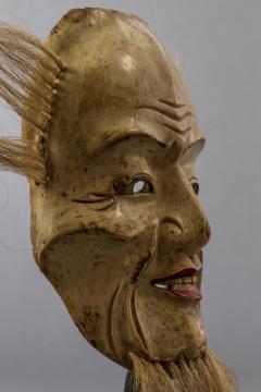 Japanese Wood Noh Mask of Jo - 1564265