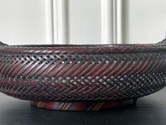 Japanese Woven Bamboo Ikebana Basket Morikago - 2002652