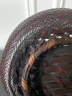 Japanese Woven Bamboo Ikebana Basket Morikago - 2002653