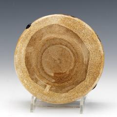 Japanese ceramic Oribe tea bowl chawan - 1381224
