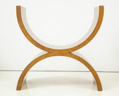 Jay Spectre Curule Benches by Jay Spectre Set of 4  - 759819