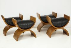 Jay Spectre Curule Benches by Jay Spectre Set of 4  - 759823