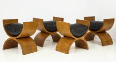 Jay Spectre Curule Benches by Jay Spectre Set of 4  - 759827