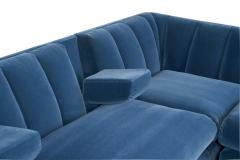 Jay Spectre Jay Spectre Channeled Sectional Sofa - 1101949