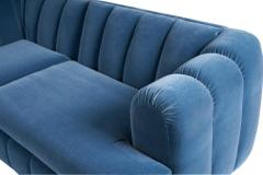 Jay Spectre Jay Spectre Channeled Sectional Sofa - 1101950