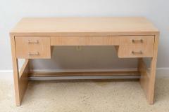 Jay Spectre Rare American Modern Cerused Oak Desk - 106480