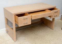 Jay Spectre Rare American Modern Cerused Oak Desk - 106481