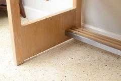 Jay Spectre Rare American Modern Cerused Oak Desk - 106484