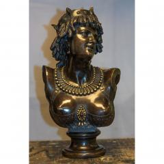 Jean Baptiste Clesinger A Finely Casted French Patinated Bronze Bust Figure Entitled Ariadne  - 1436510