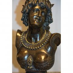 Jean Baptiste Clesinger A Finely Casted French Patinated Bronze Bust Figure Entitled Ariadne  - 1436513