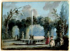 Jean Baptiste Pillement A Walk in the Park - 1020006