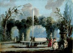 Jean Baptiste Pillement A Walk in the Park - 1020048