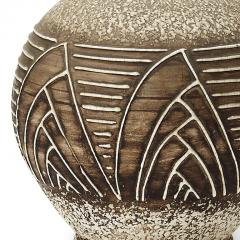 Jean Besnard Table lamp with relief of sail forms and lines in the style of Jean Besnard - 1041332