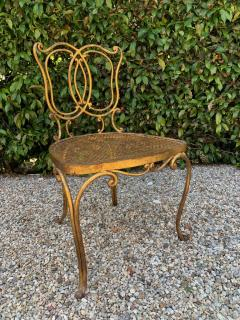 Jean Charles Moreux Jean Charles Moreux Gilt French Vanity Stool Chair - 1684626